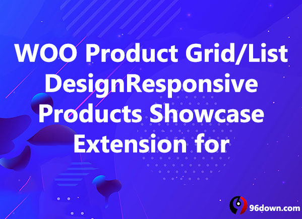 WOO Product Grid List DesignResponsive Products Showcase Extension for Woocommerce
