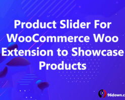 Product Slider For WooCommerce Woo Extension to Showcase Products