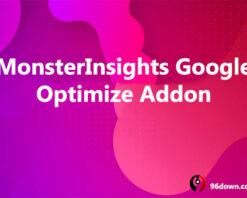 MonsterInsights Google Optimize Addon