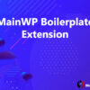MainWP Boilerplate Extension