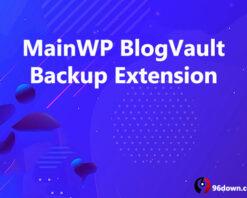 MainWP BlogVault Backup Extension