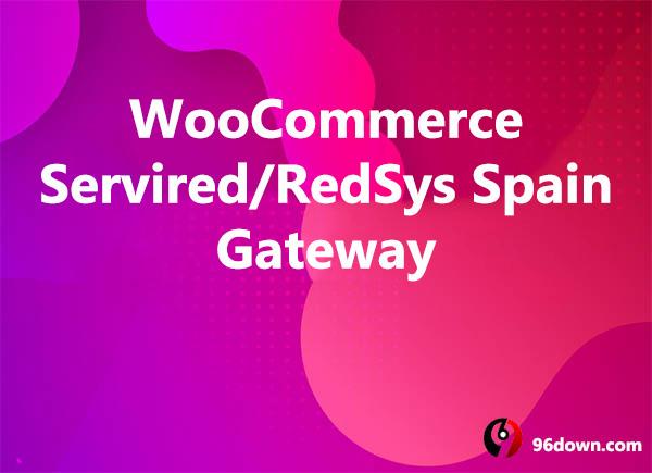 WooCommerce Servired RedSys Spain Gateway
