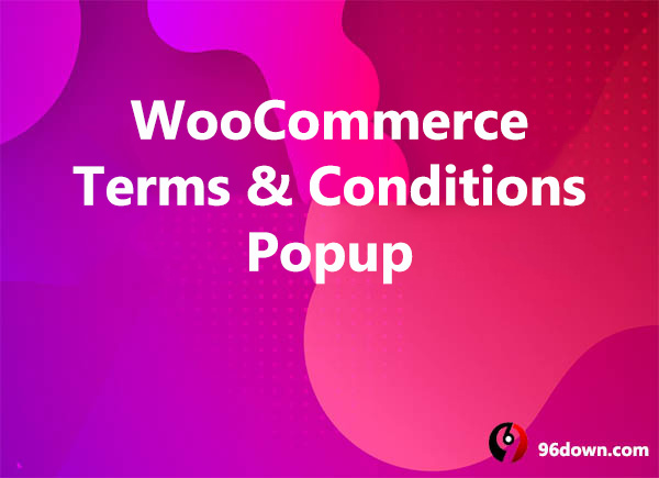 WooCommerce Terms & Conditions Popup