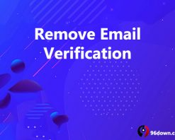 Remove Email Verification