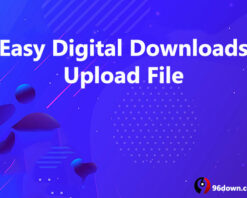 Easy Digital Downloads Upload File