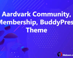 Aardvark Community, Membership, BuddyPress Theme