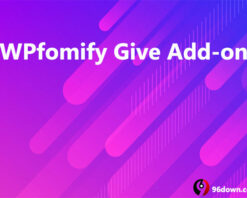 WPfomify Give Add-on