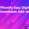 WPfomify Easy Digital Downloads Add-on