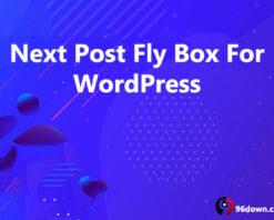 Next Post Fly Box For WordPress