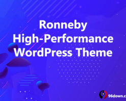 Ronneby High-Performance WordPress Theme