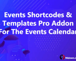 Events Shortcodes & Templates Pro Addon For The Events Calendar