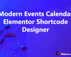 Modern Events Calendar Elementor Shortcode Designer