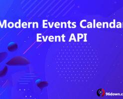 Modern Events Calendar Event API