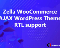 Zella WooCommerce AJAX WordPress Theme RTL support