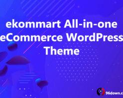 ekommart All-in-one eCommerce WordPress Theme